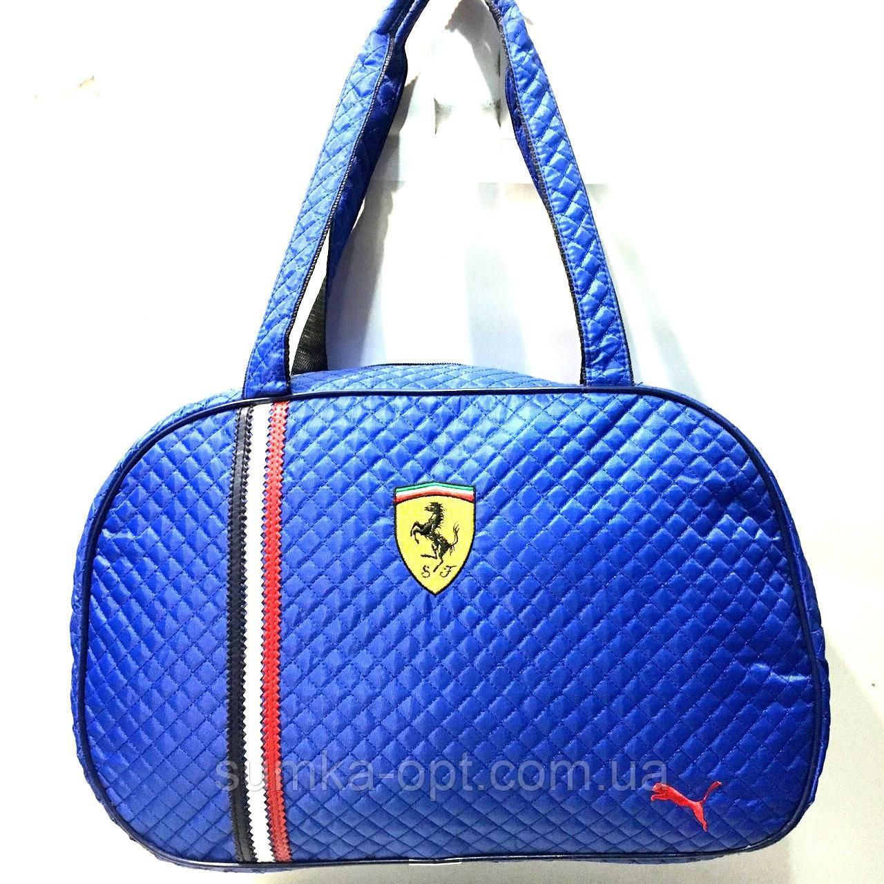 Стеганные сумки Ferrari+Puma (cbybq)28*44см