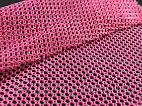 Сетка галантерейная / перегородка плотная цвет розовый 150 см