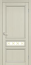 Двери KORFAD CL-07 (со штапиком) Полотно+коробка+2 к-та наличников+добор 100мм, фото 2