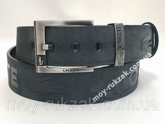 Ремень мужской кожаный Lacoste 45 мм., реплика, арт. 930672, фото 2
