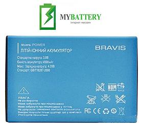 Оригинальный аккумулятор АКБ (Батарея) для Bravis Power 4500 mAh 3.8V