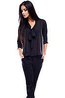 S, M / Женская молодежная блузка Fiona, черный
