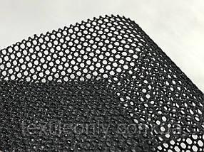 Сетка галантерейная / перегородка плотная цвет черный 150 см