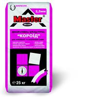 """Декоративная штукатурная смесь """"Master Décor 2.5"""" «короед» для внутренних и наружных работ, 25 кг"""