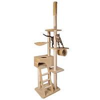 Домик-дряпка для кошки Trixie Zaragoza, от пола до потолка