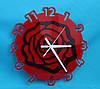 Настенные часы Роза
