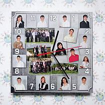 Настенные часы с фотографиями выпускников