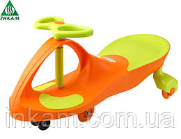 Детская машинка SMART CAR NEW ORANGE+GREEN (bibicar)