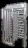 Полноростовой турникет SESAME, крашеная сталь (RAL 9005\7015), ротор 90°