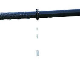 Лента для капельного полива эммитерная.