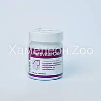 Мультикаль Кет 90 табл Долфос - Вітамінно-мінеральний комплекс для кішок