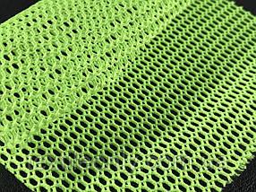 Сетка галантерейная / перегородка цвет салатовый 150 см