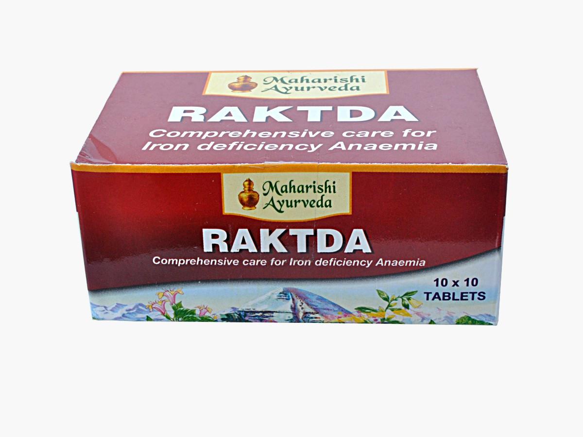 RAKTDA (100TAB) MAHARISHI AYURVEDA, РАКТА