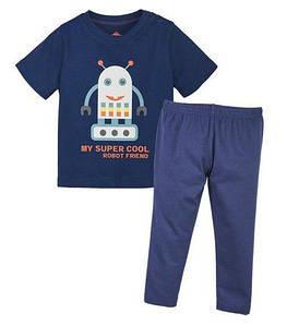 Пижама для мальчика футболка и штаны  р.110/116