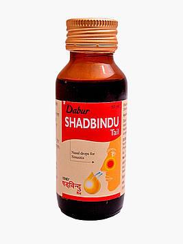 SHADBINDU TAIL (25ML) DABUR.  ШАДБИНДУ ТАИЛ. ДАБУР (срок до 12.2020)