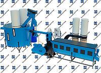 Оборудование для производства пеллет МЛГ-1500 MAX+ (производительность на пеллете до 450 кг/час)
