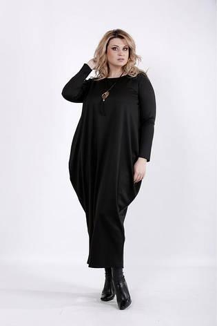 Женское повседневное платье в пол размеры: 42-74, фото 2