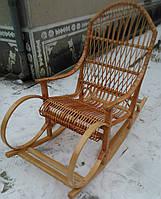 Кресло качалка плетёная, фото 1