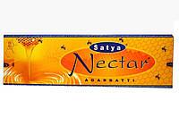 NECTAR (45GM) SATYA, АРОМАПАЛОЧКИ НЕКТАР САТЬЯ