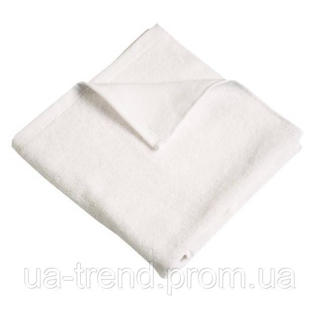 Белое банное полотенце Ярослав 70х140