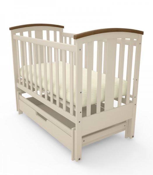 Дитяче ліжечко Woodman Mia з шухлядкою