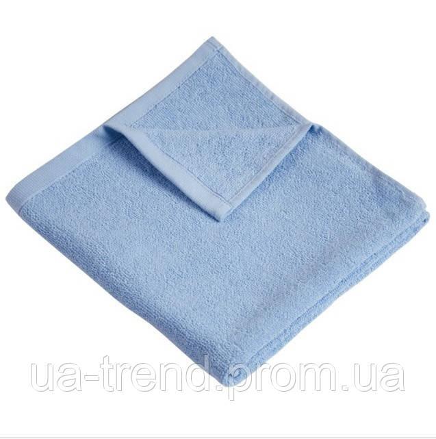 Голубое махровое полотенце Ярослав 70х140