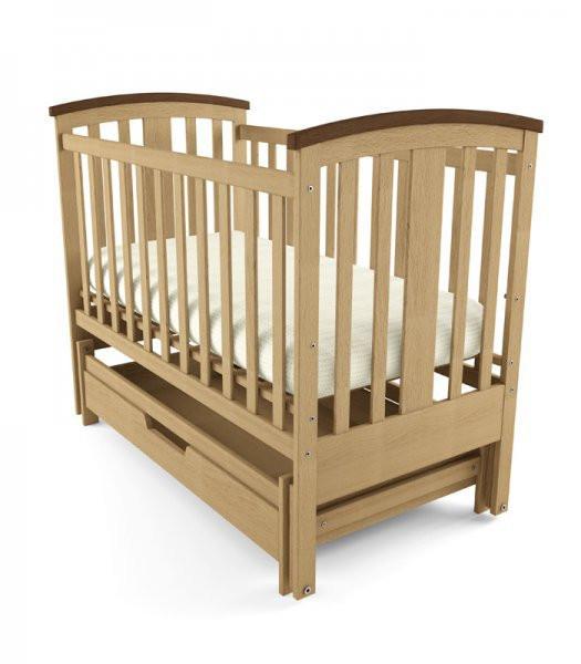 Дитяче ліжечко Woodman Mia з шухлядкою.
