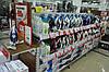 Стеллажи торговые с полками для магазина бытовой техники и электроники. Стеллаж торговый WIKO ВИКО