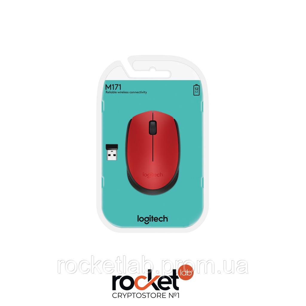 Мышка Logitech M171 Red (910-004641)