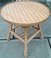 Столик плетеный на кухню