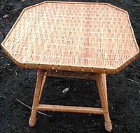 Стол плетеный 8-угольный, фото 1