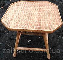 Стол плетеный 8-угольный