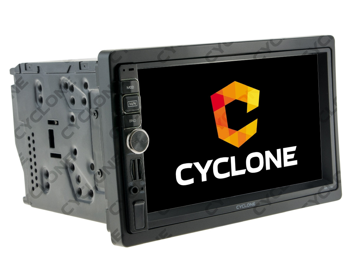 Универсальная 2DIN магнитола CYCLONE MP-7045 GPS AND