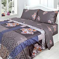 Комплект постельного белья Сатин Люкс семейный (5-предметный) f206a37007780