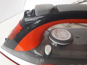 Керамический Утюг с Регулируемым Потоком Пара 2200W (керамика - 2202), фото 3