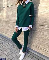 Женский костюм , модный, классический , в расцветках, фото 1