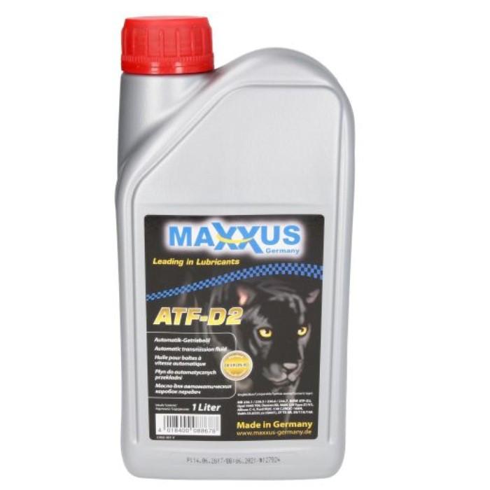 Трансмиссионное масло Maxxus ATF-D2 1л