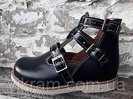 Туфли ортопедические детские НАРЦИСС, черные