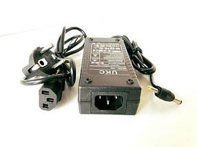 Блок Питания Адаптер 12в 6А с Сетевым кабелем в Комплекте, фото 2