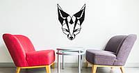 """Декоративная деревянная табличка на стену """"Fox"""""""
