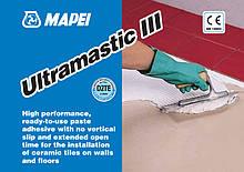 Готовый клей для плитки 5кг,Ultramastic III. Mapei