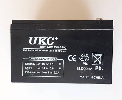 Аккумулятор Батарея 12V 9Ач для Скутеров Мопедов, фото 2
