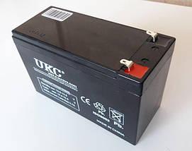 Аккумулятор Батарея 12V 9Ач для Скутеров Мопедов, фото 3