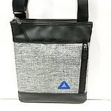 Барсетки, планшеткина плечо под джинс Puma (серый)24*26см, фото 6