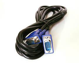 Шнур Кабель VGA - VGA 3м, фото 3