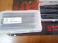 Метчик ручной HSS-E М20х2,5 VA ISO 2 6H DIN 352 комплект из 3-х шт.
