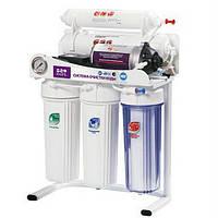 5-ти стадийная система очистки воды с насосом RO905-550BP-EZ-S-G