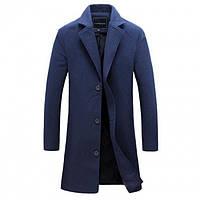 Мужское Пальто Синего Цвета — Купить Недорого у Проверенных ... 2b99ce5da9708