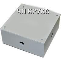 Коробка распределительная металлическая 100х100х70 ПК-10 окрашенная