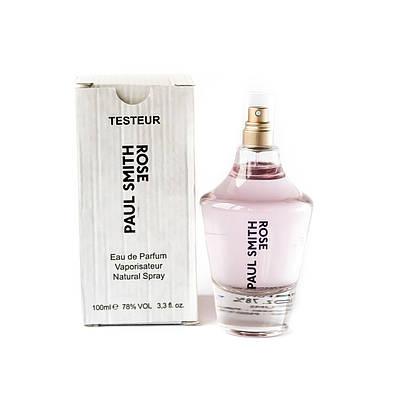 Жіночі парфуми PAUL SMITH Rose парфумована вода ТЕСТЕР 100ml легкий квітковий аромат ОРИГІНАЛ